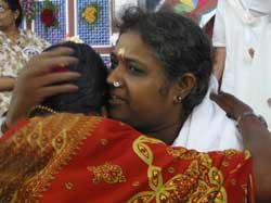 Amma's Darshan in India