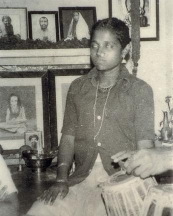 Amma as a girl
